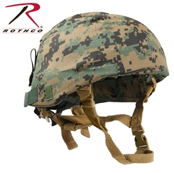 ACH Helmet 4 Point Retention Chin Strap Assembly