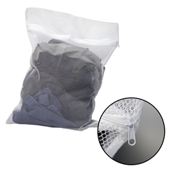 Brigade's GI Mesh Laundry Zipper Bag