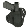 BLACKHAWK! NYLON PANCAKE 3-SLOT BELT HOLSTER