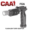 COMMAND ARMS FGA FLASHLIGHT GRIP ADAPTOR - BLACK