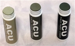 ACU Camo Face Paint Tubes