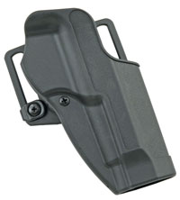 BLACKHAWK! CQC CARBON FIBER HOLSTER WITH BLACK MATTE FINISH