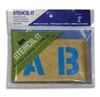 Duro 2 Inch Stencil-It Oil Board Pack