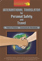 KWIKPOINT VISUAL LANGUAGE TRANSLATOR - INTERNATIONAL TRAVEL SAFETY