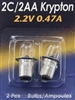 MINI CROOKNECK KRYPTON PR4 BULB - 2 PACK