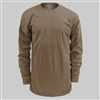 Soffe Long Sleeve T-Shirt- Tan 499