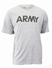 Soffe Dri-Release Army PT Light Grey Short Sleeve T-Shirt