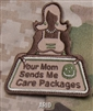 Mil-Spec Monkey Morale Patch: Your Mom sends Me Care Packages