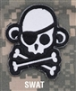 Mil-Spec Monkey Morale Patch: Skullmonkey Pirate PVC