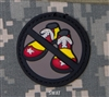Mil-Spec Monkey Morale Patch: No Clown Shoes PVC