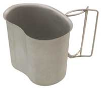 GI TYPE STAINLESS CANTEEN CUP
