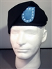 PRO-FIT SHAVED & SHAPED ARMY BERET - BLACK