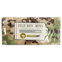 Field Bath Wipes Ready-To-Use Field Bathing System
