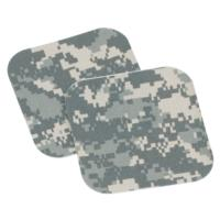 ARMED FORCES ACU UNIFORM REPAIR NO-IRON 5'' x 5'' PATCHES