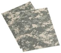 ARMED FORCES IR/FR UNIFORM SEAT REPAIR NO-IRON PATCHES