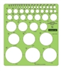 Staedtler  45 Circle Plastic Template