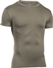 UA Tactical HeatGear Compression Tee  - Tan 499