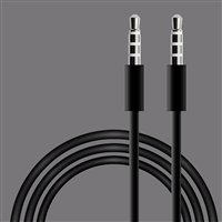 3.5mm Aux cable in Black