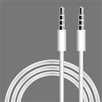 3.5mm Aux cable in White