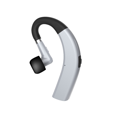 Sporty Bluetooth Earpieces with Microphone and Music 211S Silver