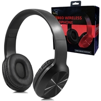 Over-the-Head Stereo Bluetooth Headset S217 in Black