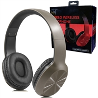 Over-the-head Stereo Bluetooth Headset S217 Grey