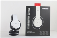 Over-the-head Stereo Bluetooth Headset S228 in White