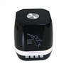 Portable Mini Bass Speaker SL12 color Lights in Black