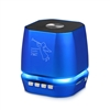 Portable Mini Bass Speaker SL12 color Lights in Blue