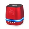 Portable Mini Bass Speaker SL12 color Lights in Red