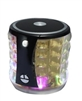 Portable Mini Bass Speaker SL22 color Lights in Black