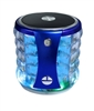 Portable Mini Bass Speaker SL22 color Lights in Blue