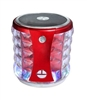 Portable Mini Bass Speaker SL22 color Lights in Red