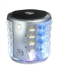 Portable Mini Bass Speaker SL22 color Lights in Silver