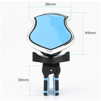 Magnetic Forced Air Venting Car Holder with All 360 degree Rotation Blue