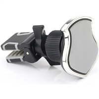 Magnetic Forced Air Venting Car Holder with All 360 degree Rotation Grey
