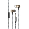 Metal Stereo Hands Free with Super Sound M08 Gold