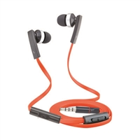 T80V Super Bass Stereo Hands Free with Volume Control Red