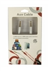 AUDIO CABLE 3.5MM BLISTER PAC White