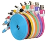 10 feet  Colorful iPhone 5 Data and Charger Cable Mix Colors
