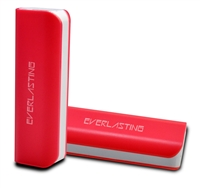 Power Bank 2600mAh Red