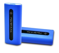 Portable 4400mAh Power Bank with Outstanding Operation in Blue