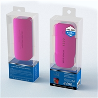 Power Bank 4400mAh Pink
