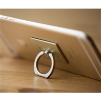 Wind Wing Ring Holder Stand w/360 Degree Rotation Gold