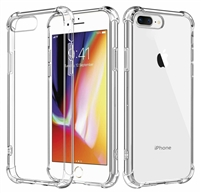 "For Apple iPhone 8 Plus/ 7 Plus/ 6s Plus/ 6 Plus (5.5"") Shockproof Clear Case Cover"