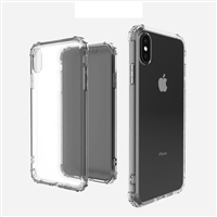 "For Apple iPhone X/ Xs (5.8"") Shockproof Clear Case Cover"
