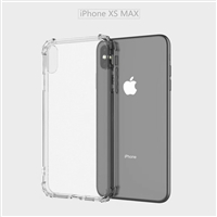 "For Apple iPhone Xs Max (6.5"") Shockproof Clear Case Cover"