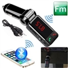 Bluetooth FM transmitter with Built-in Microphone