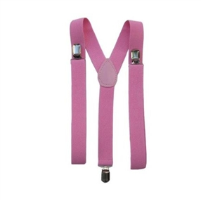 Boys Suspenders 0-8 years: PINK