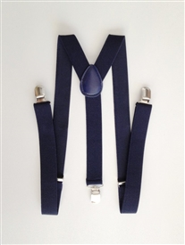 Boys Suspenders - NAVY